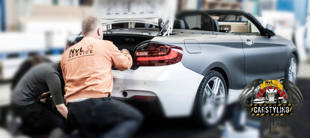 BMW 2 Cabrio Folie statt Lack
