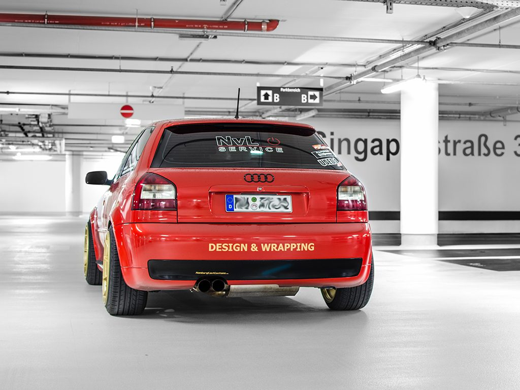 CarWrap Audi S3