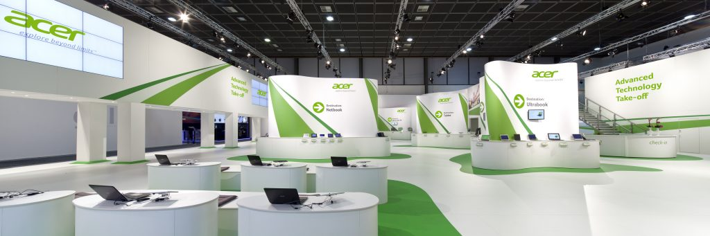 Acer Messestand